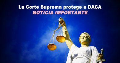 La Corte Suprema protege a DACA