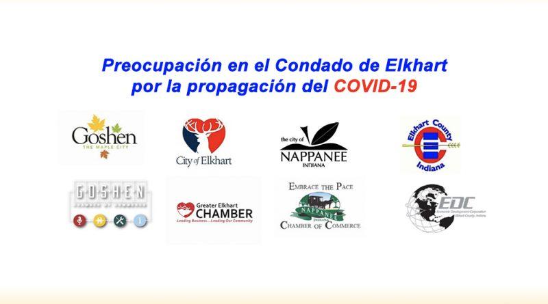 Preocupación en el Condado de Elkhart por la propagación del COVID-19