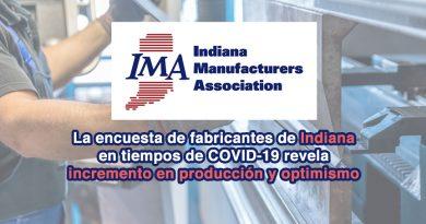 La encuesta de fabricantes de Indiana en tiempos de COVID-19 revela incremento en producción y optimismo sobre el futuro