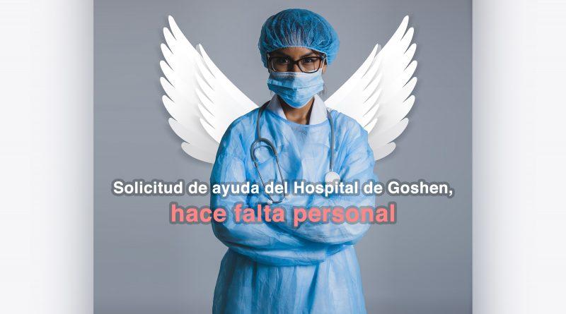 El COVID-19 está causando faltas de personal en el Hospital de Goshen