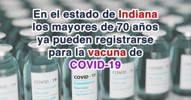 Vacuna en Indiana