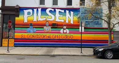 Chicago Mural Honors COVID's Essential Workers