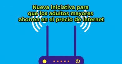 Nueva iniciativa para que los adultos mayores ahorren en el precio de internet
