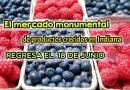El mercado monumental de productos crecidos en Indiana regresa el 18 de junio