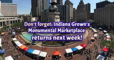 Don't forget: Indiana Grown's Monumental Marketplace returns next week!