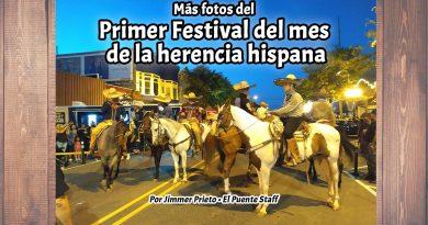 Más fotos del Primer Festival del mes de la herencia hispana