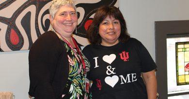 Cynthia Murphy y Araceli Lepe