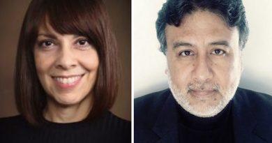 Maribel Hastings and David Torres