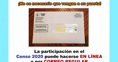 Participe en el Censo 2020