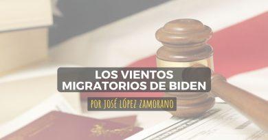 Los vientos migratorios de Biden