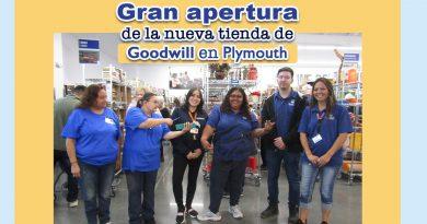 Gran apertura de la nueva tienda de Goodwill en Plymouth